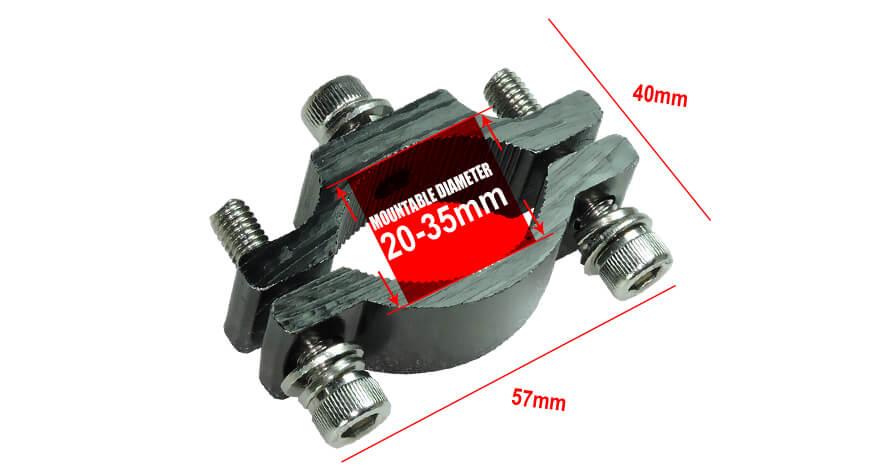 motorcycle headlight bracket standard A 20-35 mm