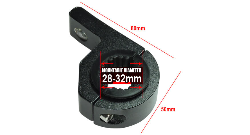 headlight mounting bracket for motorcycle 28-32 mm
