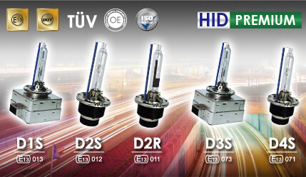 replacement hid bulb for premium metal base emark bulb
