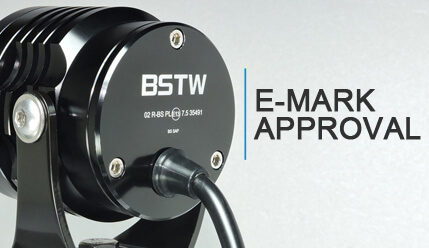 led driving light motorcycle emark approval TUV ECE R113 R50 R10
