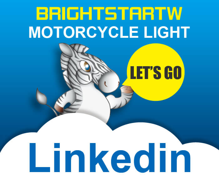 BRIGHTSTARTW Motorcycle Light Page New Launch To LinkedIn
