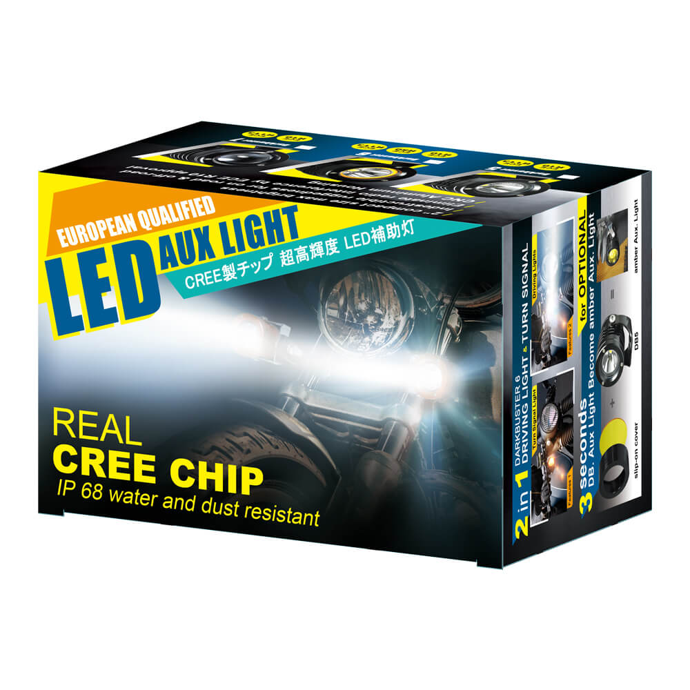 Color Box of auxiliary led lights