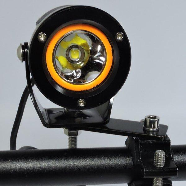 L type and plate bracket for utv lights