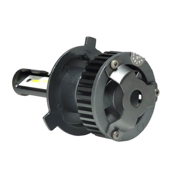 led headlight bulb led 12e h4 fan type