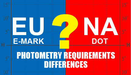 E-MARK & DOT Photometry Requirements Wide Disparities