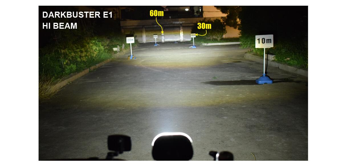 Speed Pedelec Headlight DB E1 HI BEAM