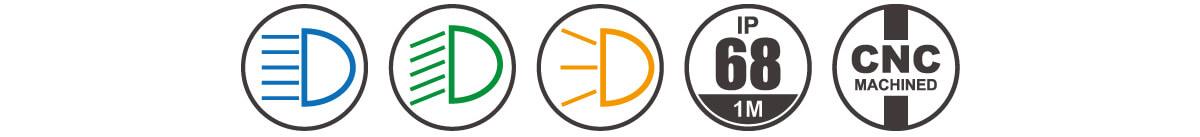Speed Pedelec Headlight DB E1 ICON