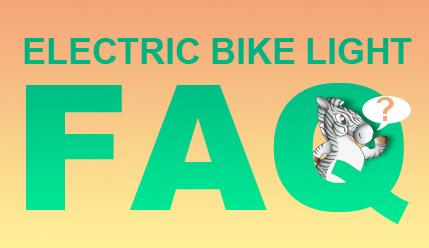 ELECTRIC BIKE LIGHT FAQ