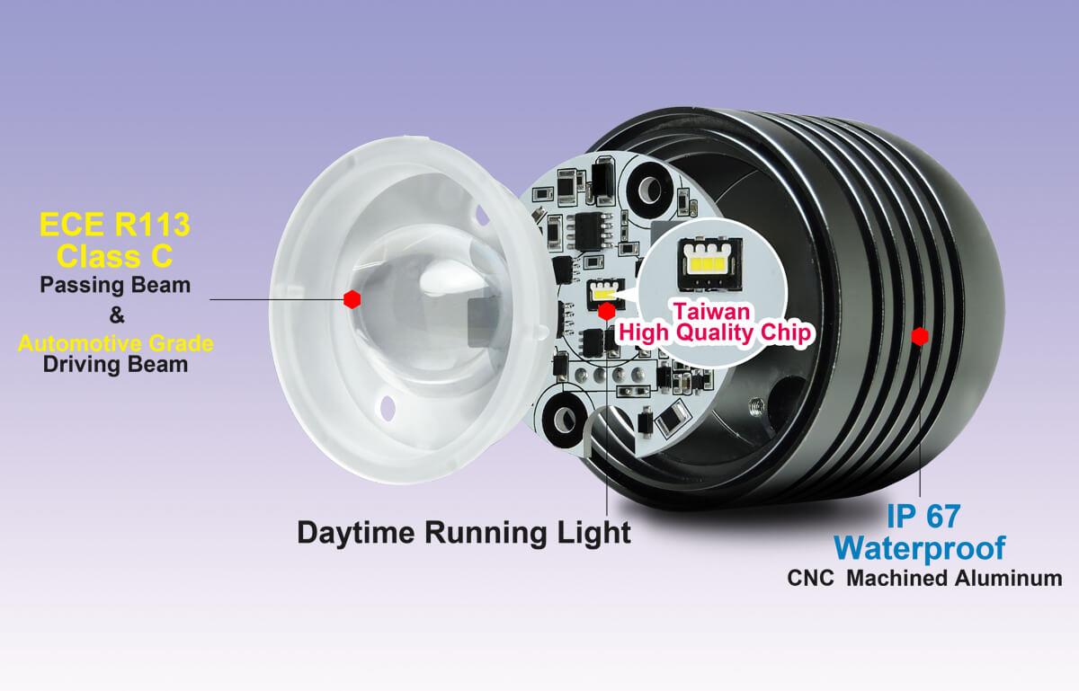 Ebike Light DARKBUSTER E4-4