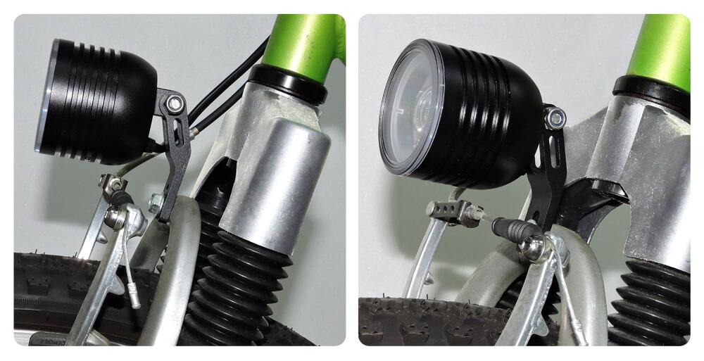 Fork Mounting Brackets Bike Headlight Bracket (Standard Type A)