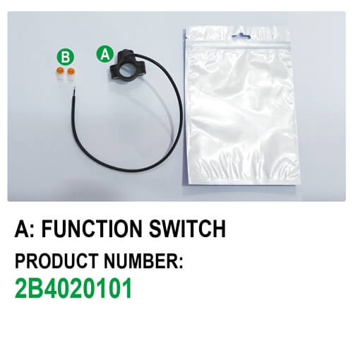 Headlight Switch E-Bike Function Switch (Type A)-packaging