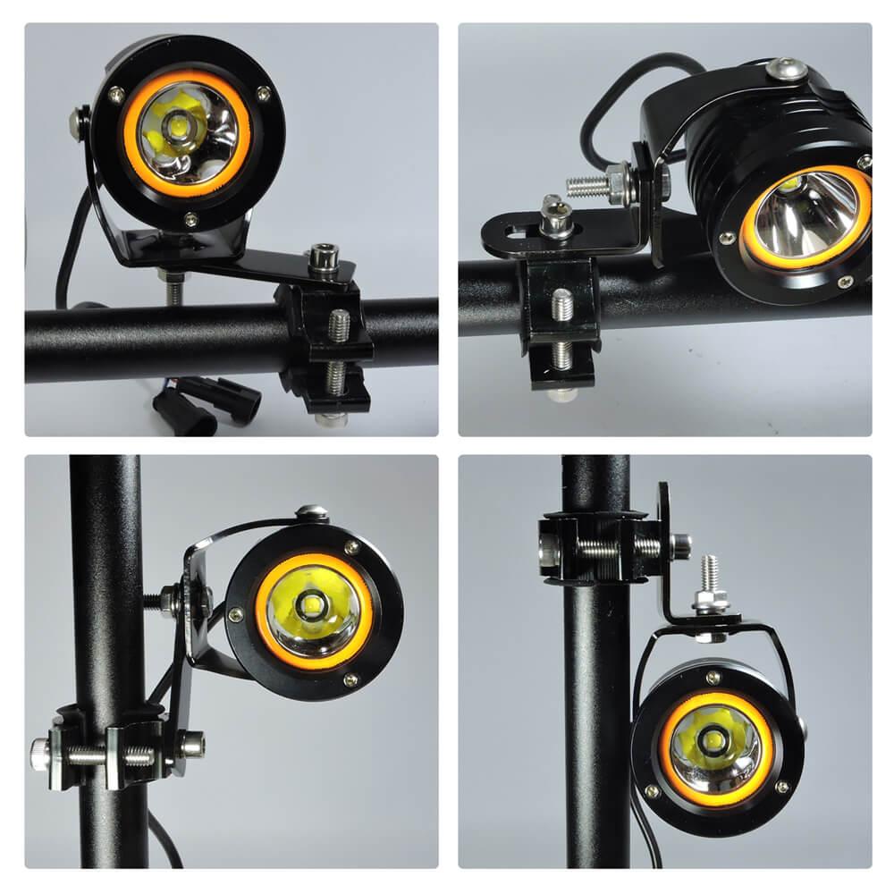 Motorcycle Headlight Brackets For L Type & Plate Bracket