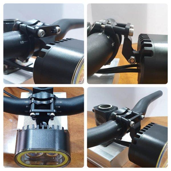 Stem Mount Bike Headlight Bracket B