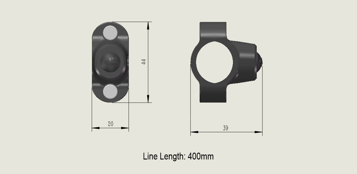 Headlight Switch Function Switch (Type A) SIZE