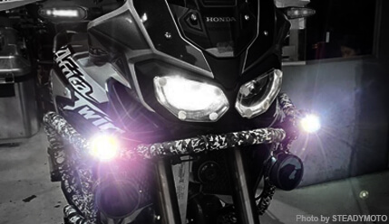 What are the best choices of LED Aux. lights for motorcycle