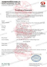 global certificate of insurance for motorcycle led driving light
