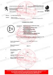 D3S xenon bulb d2s emark certification